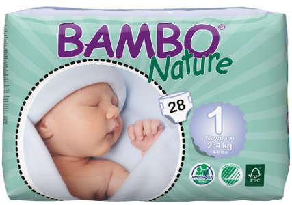Free Bambo Nature Nappies