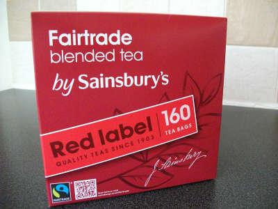Free Sainsbury's Red Label Tea